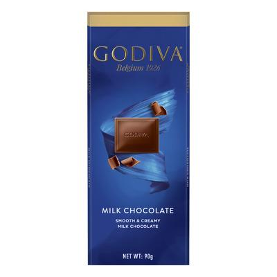 Godiva Tablet milk