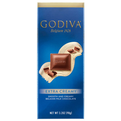 Godiva Tablet milk extra creamy