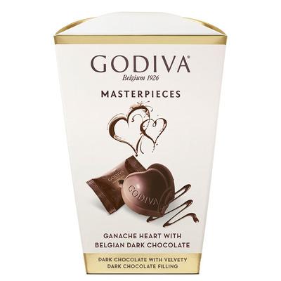 Godiva Masterpieces box ganache heart