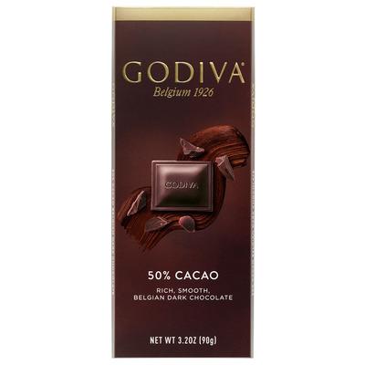Godiva Tablet dark 50%