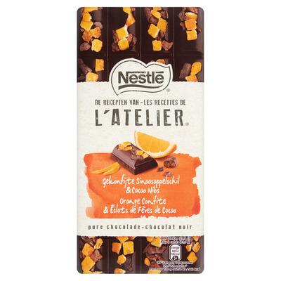 Nestlé Puur sinaasappel cacao nibs