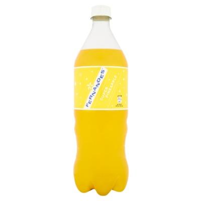 Fernandes super pineapple fles 1 liter incl.€0,25 statiegeld