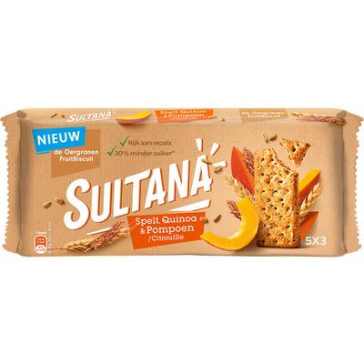 Sultana Spelt quinoa pompoen