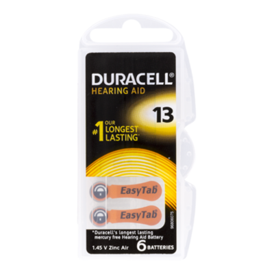 Duracell Batterij hearing aid 13