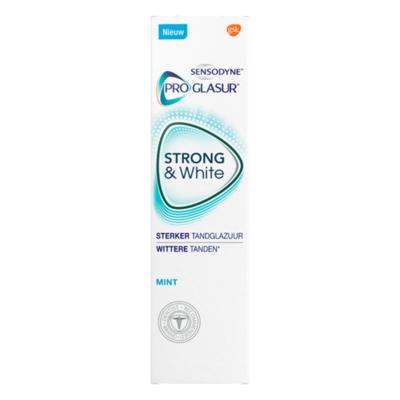 Sensodyne ProGlasur Strong & White Mint Tandpasta