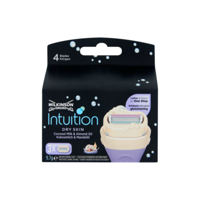 Wilkinson Sword Intuition Dry Skin Coconut Milk & Almond Oil