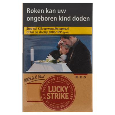 Lucky Strike Sigaretten additive free