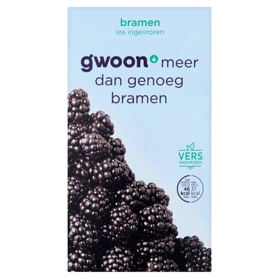 g'woon Bramen Diepvriesfruit 250 g