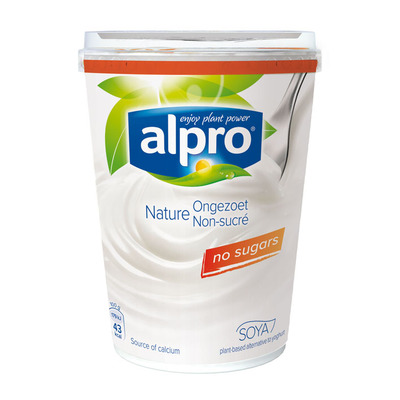 Alpro naturel ongezoet