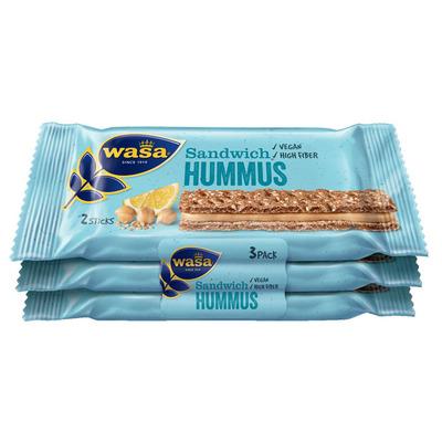 Wasa Sandwich hummus