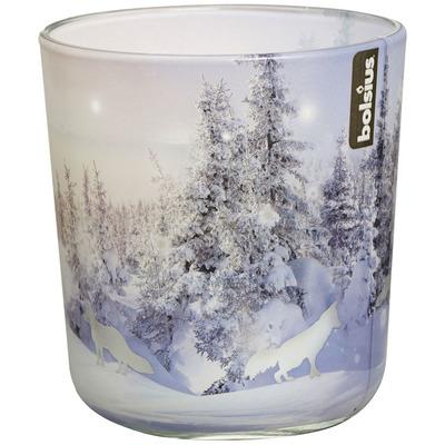 Bolsius Glas geur snow sandalwood