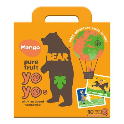 Bear Pure fruit mango yoyos