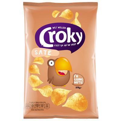 Croky Chips saté