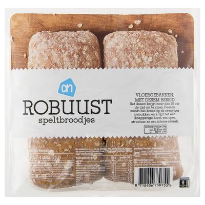 Huismerk Robuust spelt broodjes