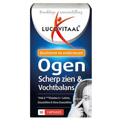 Lucovitaal Scherp zien & vochtbalans capsules