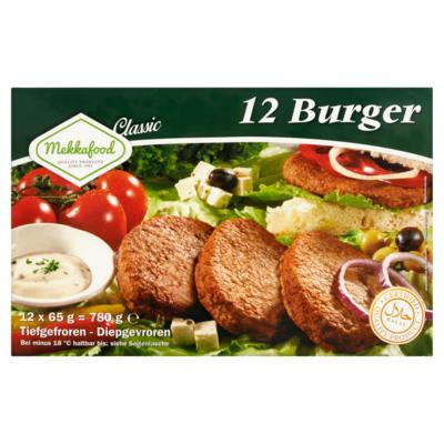 Mekkafood Burger 12 x 65 g