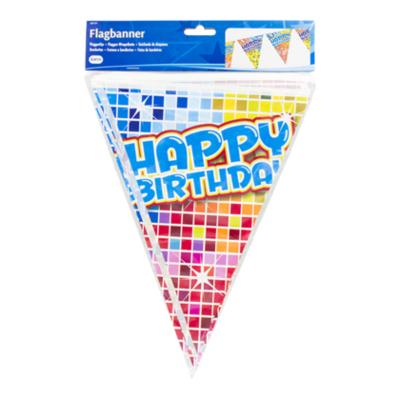 Folat Folat Vlaggenlijn birthday blocks