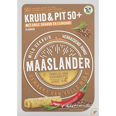 Maaslander Kruiden & pittige chili 50+ plakken