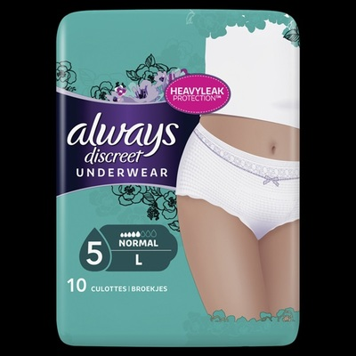 Always Discreet Underwear Normaal Large