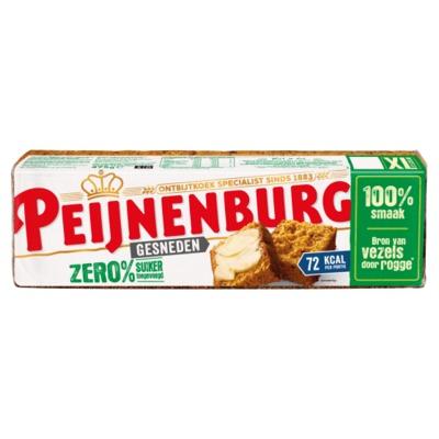 Peijnenburg zero 0% suiker gesneden 475 gram