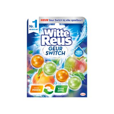 Witte Reus Geur Switch Perzik / Rode Appel Toiletblok