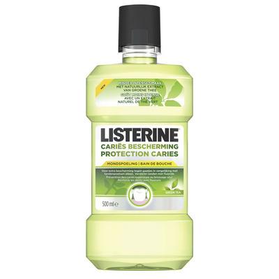 Listerine Mondwater cariës bescherming