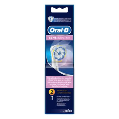 Oral-B Sensi Ultrathin Opzetborstels Voor Elektrische Tandenborstels X