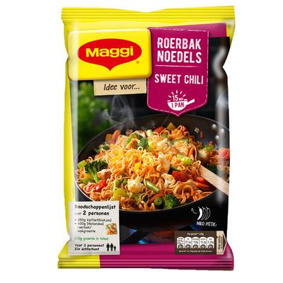 Maggi Roerbak noedel sweet chili