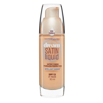 Maybelline New York Dream satin liquid 21 nude beige