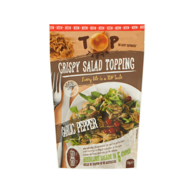 Top Taste Crispy Salad Topping Garlic Pepper Flavour