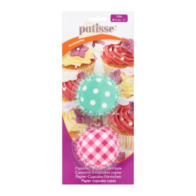 Patisse Accessories Papieren Cupcake Vormpjes