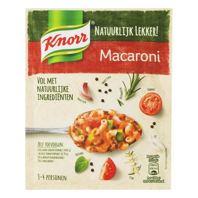 Knorr Natuurlijk lekker macaroni