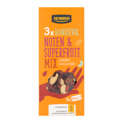 Huismerk Noten & Superfruit Mix