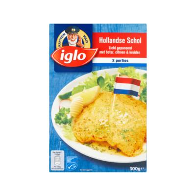 Iglo Hollandse Schol Licht Gepaneerd met Boter, Citroen & Kruiden