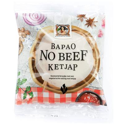 Vegetarische Slager Bapao no beef ketjap