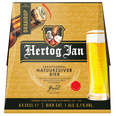 Hertog Jan Pilsener twist off