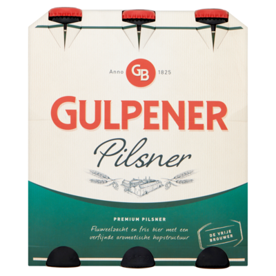 Gulpener Pilsner 6x30cl