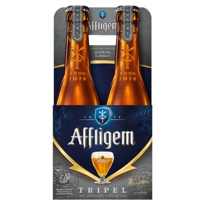 Affligem Tripel Bier Fles 4 x 30 cl