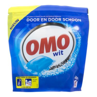 Omo Capsules wit 12 scoops