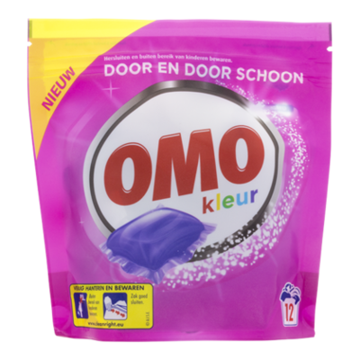 Omo Capsules color 12 scoops
