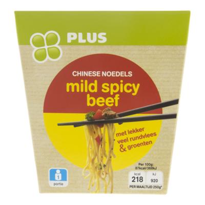 PLUS Noedels mild spicy beef