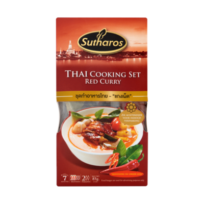 Sutharos Thai Cooking Set Red Curry