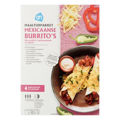 Huismerk Maaltijdpak Mexicaanse burrito