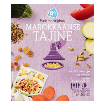 AH Pure maaltijdlmix Marokkaanse tajine
