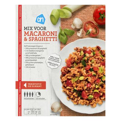 Huismerk Mix voor macaroni en spaghetti