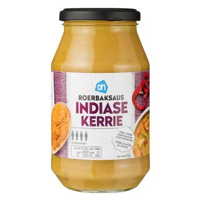 Huismerk Roerbak saus Indiase kerrie