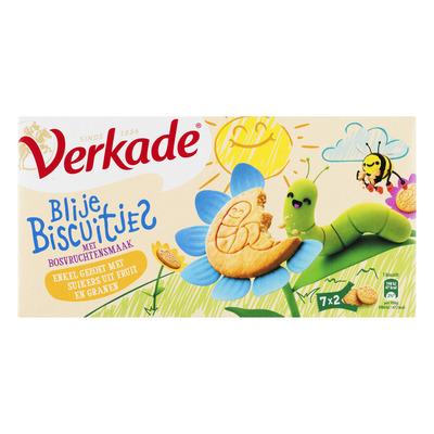 Verkade Blije biscuitjes bosvruchten