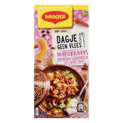 Maggi Dagje geen vlees Marokkaanse stoofpot