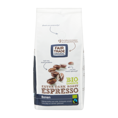 Fair Trade Original Biologisch Extra Dark Roast Espresso Bonen