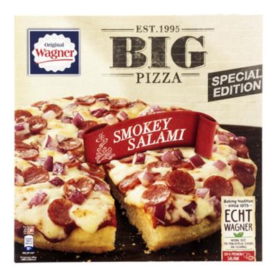 Wagner Big pizza smokey salami